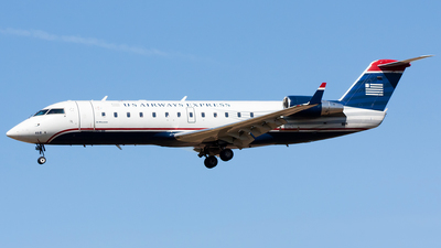 N468AW - Bombardier CRJ-200LR - US Airways Express (Air Wisconsin)