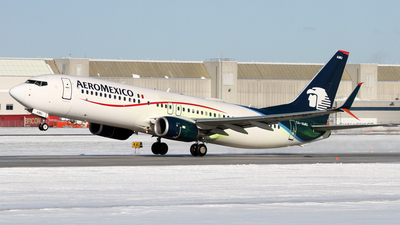 XA-AMU - Boeing 737-852 - Aeroméxico