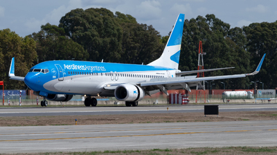 A picture of LVFVM - Boeing 7378SH - Aerolineas Argentinas - © dario_spotter
