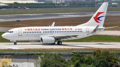 B-5822 - Boeing 737-79P - China Eastern Airlines