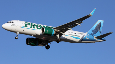 A picture of N342FR - Airbus A320251N - Frontier Airlines - © Len Schwartz