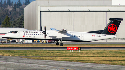 C-GJZK - Bombardier Dash 8-Q402 - Air Canada Express (Jazz Aviation)