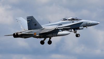 CE.15-08 - McDonnell Douglas EF-18BM Hornet - Spain - Air Force