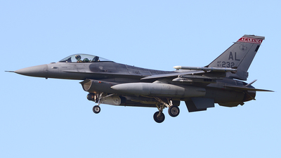 87-0232 - General Dynamics F-16C Fighting Falcon - United States - US Air Force (USAF)