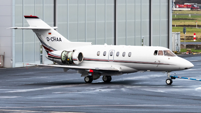 D-CHAA - Raytheon Hawker 750 - Private