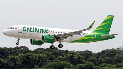 PK-GTC - Airbus A320-251N - Citilink