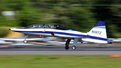 A picture of N38TZ - Northrop T38A - Boeing - © Huy Do