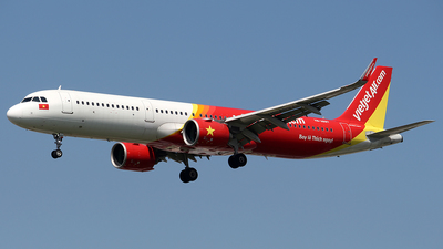 A picture of VNA697 - Airbus A321271N - VietJet Air - © Huy Do