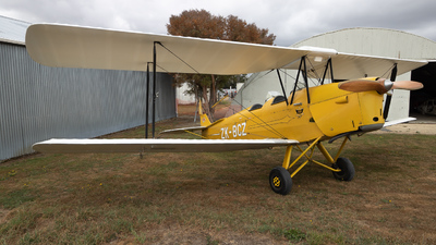 ZK-BCZ - De Havilland DH-82A Tiger Moth - Private