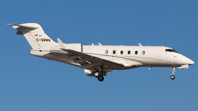 C-GWWW - Bombardier BD-100-1A10 Challenger 300 - Chartright Air