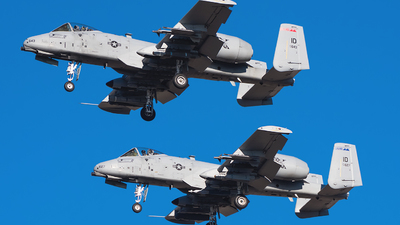 78-0643 - Fairchild A-10C Thunderbolt II - United States - US Air Force (USAF)