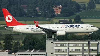 TC-JFF - Boeing 737-8F2 - Turkish Airlines