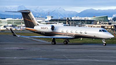 N454FX - Gulfstream G450 - Private