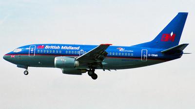 G-OBMR - Boeing 737-5Y0 - British Midland