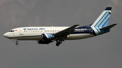 PK-YSH - Boeing 737-3L9 - Trigana Air Service