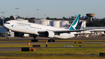 B-HNO - Boeing 777-367 - Cathay Pacific Airways