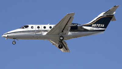 N872RA - Hawker Beechcraft 400A - Private