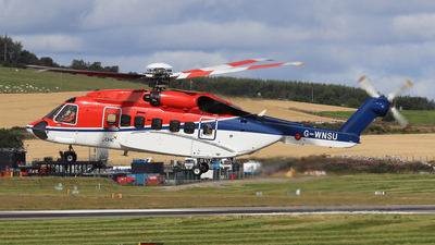 G-WNSU - Sikorsky S-92A Helibus - CHC Scotia Helicopters