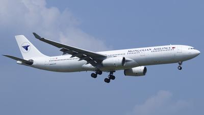 TC-SGJ - Airbus A330-343 - MIAT Mongolian Airlines