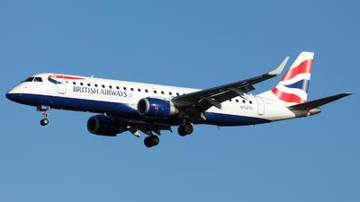 G-LCYU - Embraer 190-100SR - BA CityFlyer