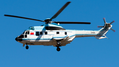 2155 - Eurocopter AS 332L Super Puma - China - Air Force