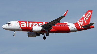 A picture of 9MAGM - Airbus A320216 - AirAsia - © Vicknesh PS
