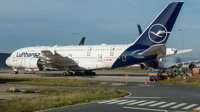 A picture of DAIMD - Airbus A380841 - Lufthansa - © Karsten S.