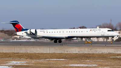 N800SK - Bombardier CRJ-900LR - Delta Connection (SkyWest Airlines)