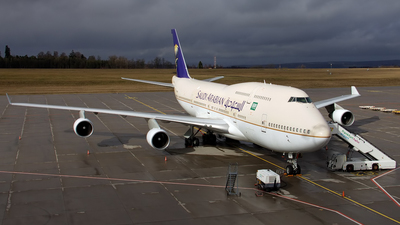 TF-AAE - Boeing 747-4H6 - Saudi Arabian Airlines (Air Atlanta Icelandic)