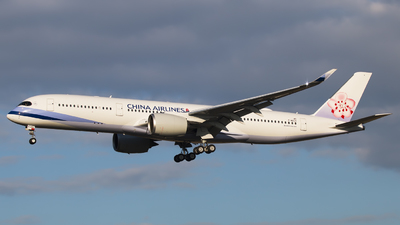 F-WZGV - Airbus A350-941 - China Airlines