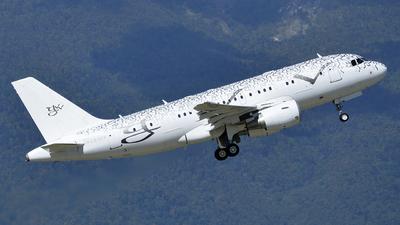 LX-GVV - Airbus A319-115X(CJ) - Global Jet Luxembourg