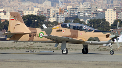 15-2413 - Embraer EMB-312 Tucano - Iran - Revolutionary Guard
