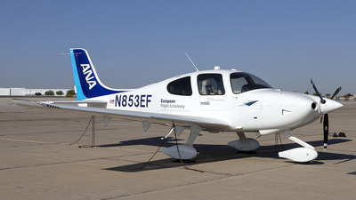 N853EF - Cirrus SR20 - European Flight Academy