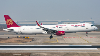 A picture of B8315 - Airbus A321231 - Juneyao Airlines - © xuhaoqing995