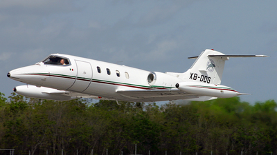 XB-DDG - Gates Learjet 25D - GDD Cancun