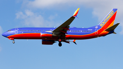 N8635F - Boeing 737-8H4 - Southwest Airlines