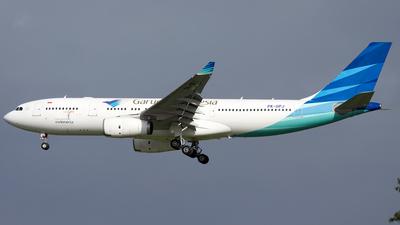 PK-GPJ - Airbus A330-243 - Garuda Indonesia
