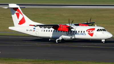 OK-JFK - ATR 42-500 - CSA Czech Airlines