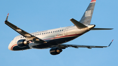 N125HQ - Embraer 170-200LR - US Airways Express (Republic Airlines)