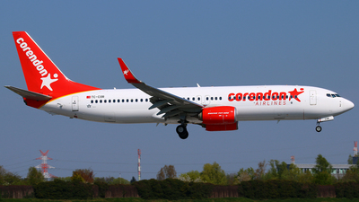 TC-COR - Boeing 737-8SH - Corendon Airlines