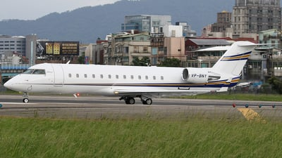 VP-BNY - Bombardier CL-600-2B19 Challenger 850 - Private