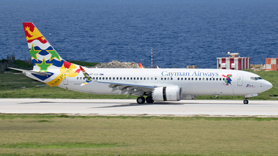 A picture of VPCIX - Boeing 737 MAX 8 - Cayman Airways - © Roger Cannegieter