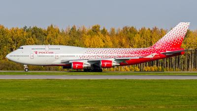 A picture of EIXLG - Boeing 747446 - Rossiya - © Alexander Lebedev