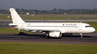 D-ANNA - Airbus A320-233 - Blue Wings