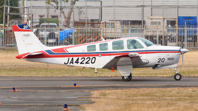 A picture of JA4220 - Beechcraft A36 Bonanza - [E2847] - © Tsumugu Ono