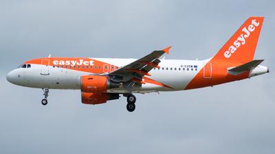 G-EZBW - Airbus A319-111 - easyJet