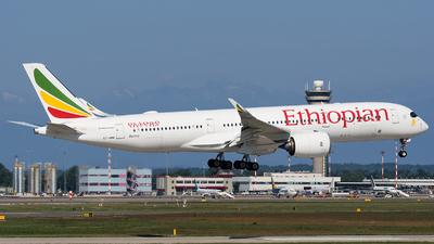 ET-AWM - Airbus A350-941 - Ethiopian Airlines