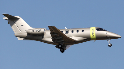 LX-PCF - Pilatus PC-24 - Jetfly Aviation