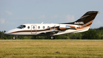 N401RL - Raytheon Hawker 400XP - Private