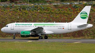 D-ASTL - Airbus A319-112 - Germania